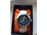 Superdry watch, white boxed unused
