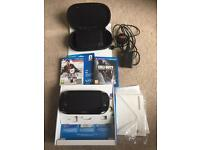 PS Vita 3G + Wifi Boxed 8gb memory card and games