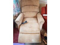 Electric chair ideal for elderly or disabled