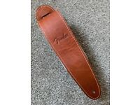 Genuine Fender Ball Glove Leather Guitar Strap
