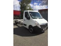 Vauxhall Movano chassis cab