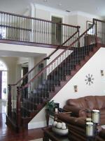 STAIRS         Professional Hardwood Stair installer