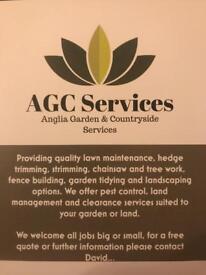 Anglia Garden and Countryside services