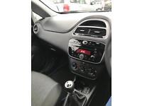 Fiat Punto black 1.2 3 doors 18k miles