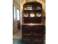 Dark Brown Dresser for Sale - items on dresser not for sale