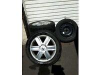 Renault Megane Clio Scenic 16inch Alloy Wheels 205/55/16