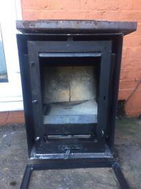 Multifuel wood/coal burner. Aarrow Arada, 3 years old