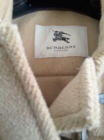 Genuine burberry duffle coat