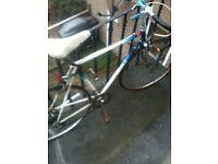 Racing bike. Vintage racing bike.