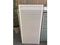 MDF decorative radiator panel screening