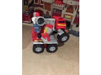 Matchbox talking transform fire engine