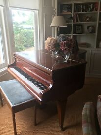 Beautiful Boudoir Grand Piano - Albert Fahr