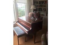 Beautiful Boudoir Grand Piano - Albert Fahr