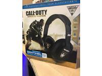 Turtle Beach Call of Duty Advance Warfare ear force Sentinel Task Force PS4