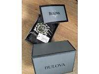 Mens Bulova rear watches x2