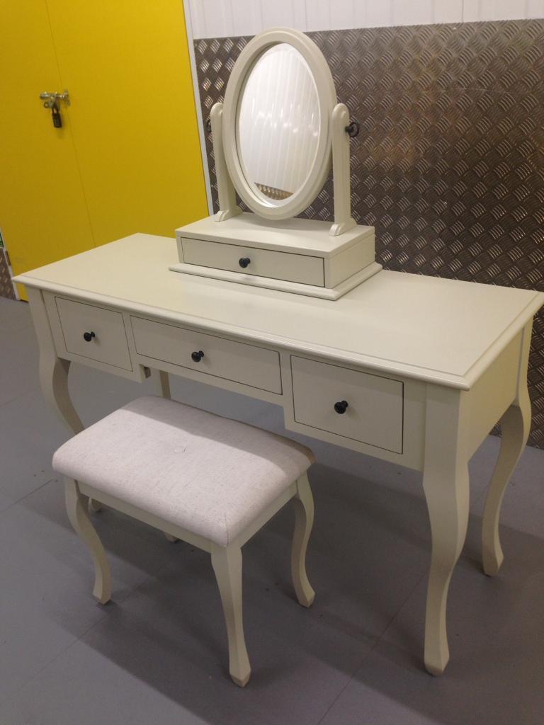 Laura Ashley Rosalind dove grey dressing table set - habitat John ...