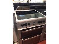 Silver ceramic 60cm cooker £149 delivered