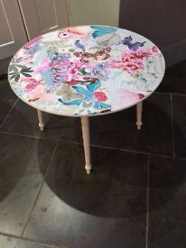 Quaint small coffee table