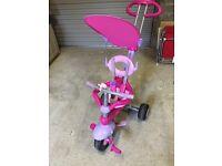 Pink toddlers bike