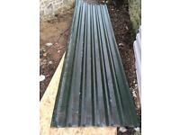 13ft green box profile corrugated sheets x3