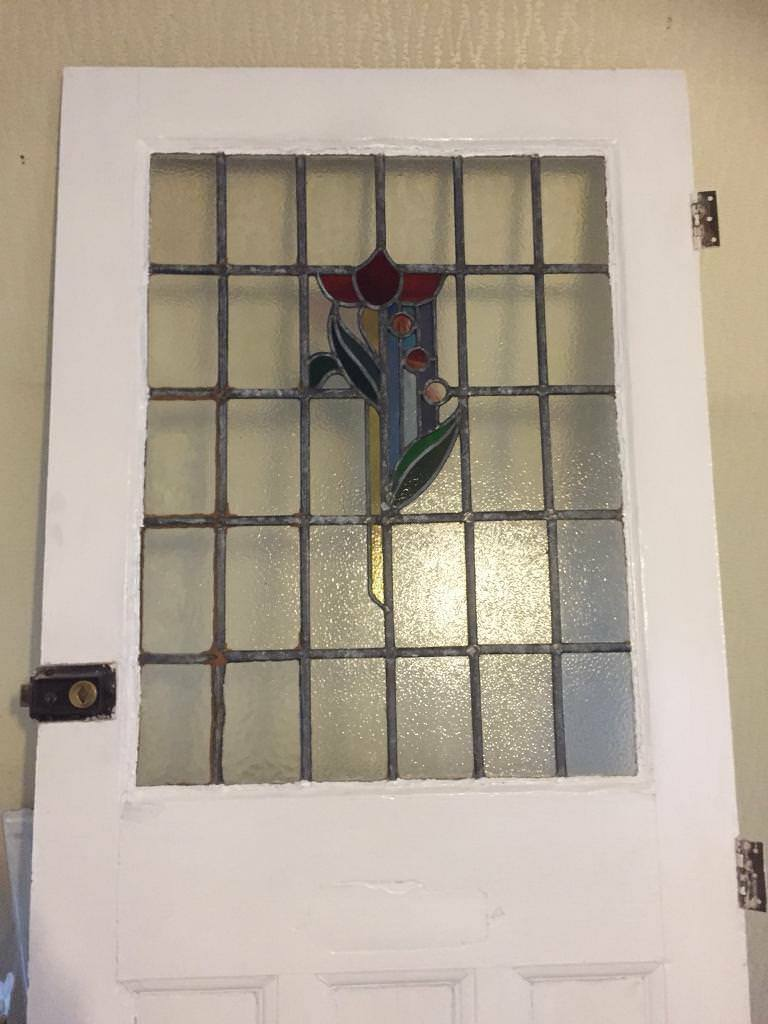 Vintage Victorian Stained Glass Front Door In Exeter Devon Gumtree