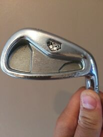 Taylormade tp forged irons ping putter and a callaway bag