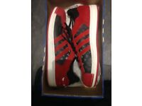 Adidas Superstars NBA Chicago Bulls (Very Rare - Never Worn) These are from the 2007 collection!