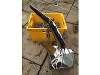 Ultra Anchor 16Kg, Swivel and Chain all in stainless steel