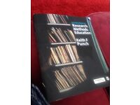 Research methods in education book