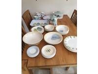 Portmeirion the seasons collection crockery set 51 PIECES
