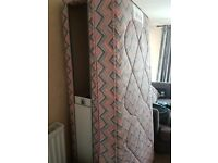 Divan single bed with draws