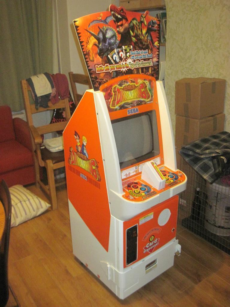Rare Sega Dinosaur King Childrens Arcade Machine In