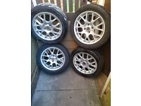 ALLOY WHEELS:MG,ROVER 25