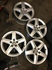 """Audi 17"""" Alloys A3,A4,A5,A6"""