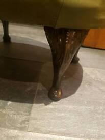 Chesterfeild footstool