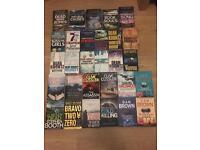 29 Books-Various Authors James Oswald, Dean Koontz, Stephen King, Dan Brown