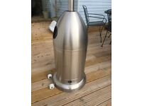 New stainless steal gas heater