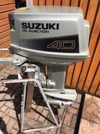Suzuki 40HP oil injection LONGSHAFT
