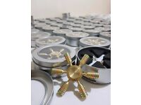 £2.64/item Fidget Spinner Quality Metal In Gift Box Wholesale Shop Carboot UK