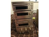 TEAC 4 piece stereo system
