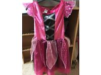Little pink witch outfit 3-4