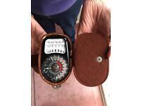 Weston Master 3 Exposure Meter