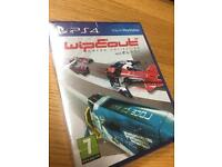 WIPEOUT OMEGA COLLECTION PLAYSTATION 4 PS4 BRAND NEW FACTORY SEALED