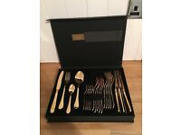 Biba Odette 24 Piece Gold Plated Cutlery Set from House of Fraser