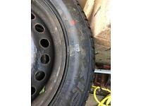 Maxxis 205/55/16 tyre new on steel wheel
