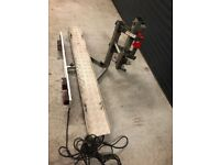 Motorbike carrier easylifter no ramp required loading from ground level