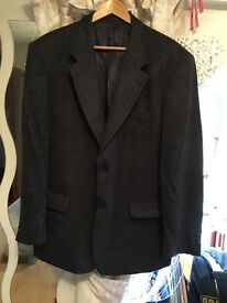 Men's dark tweed jacket