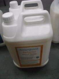 Perfumed Liquid Hand Soap - Hospiguard - 5 Ltr Container