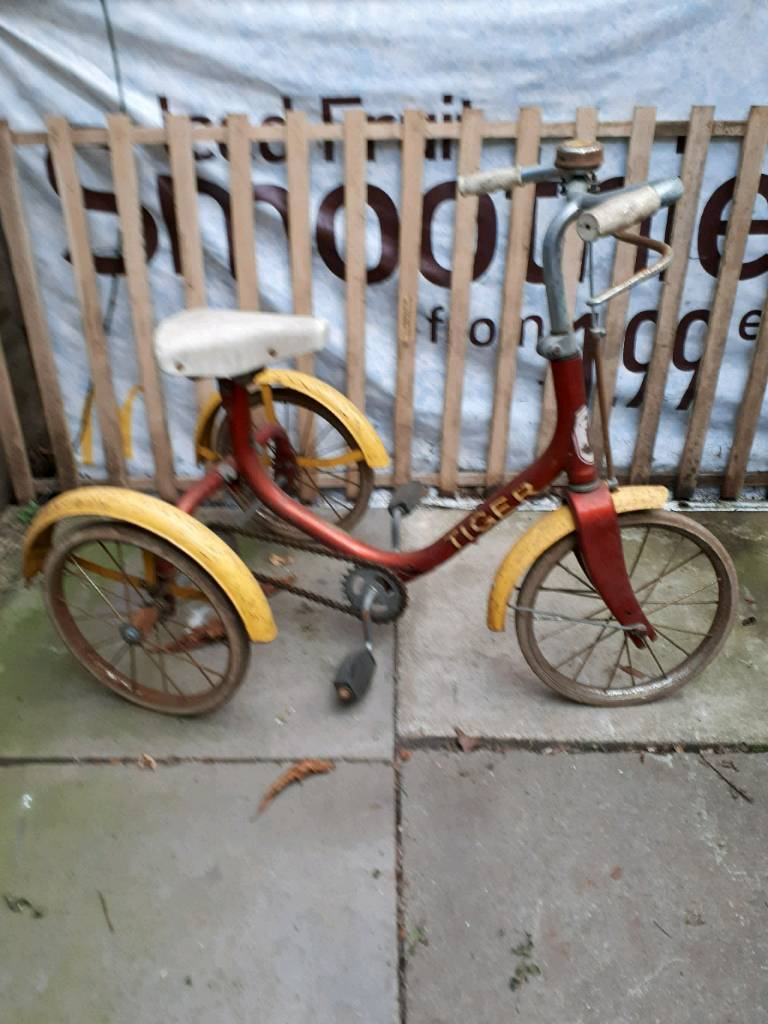 Raleigh tiger tricycle