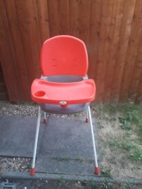 Highchair that converts to lowchair
